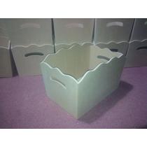 Cajon Porta Cosmeticos Fibrofacil 20x30x21 Ajuar Bebe