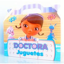 Cajita Golosinera Doctora Juguetes Pack X10 Valijitas