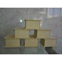 Cajas De Fibrofacil De 6x6x4 X 10 Unidades