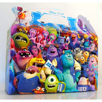 Cajita Souvenirs Monsters University Pack X10 Valijitas