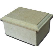 Caja Con Tapa De Moldura De Fibrofacil 6 X 8cm (13209)