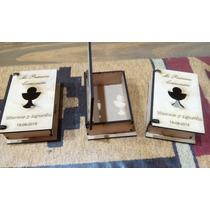 Souvenir Cajita Libro Comunion Fibrofacil