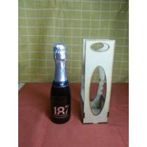 Porta Champagne 187 Ml Fibrofacil Mdf Corte Laser