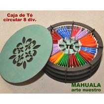Caja De Té Circular