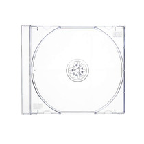 Cajas Cd Dvd Acrilicas Jewell Transparentes X100 Unid.10.2mm