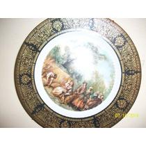 Liquido Plato Porcelana C/ Sello. Nicolas Lancret (caja 3)