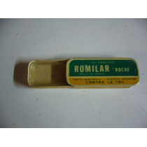 Antigua Lata De Pastilas Romilar Roche