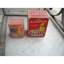 Antiguas Cajas De Almidon Camello Llenas