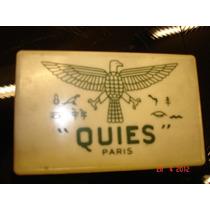 Quies Paris Antigua Cajita Plastica