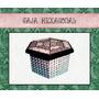 Caja Hexagonal Zentangle // Taller De Enredos