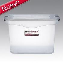 Caja Plastica Organizadora Resistente Colombraro X 36 Lts