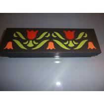 Caja Para Sahumerios Pintada Y Decorada Artesanalmente