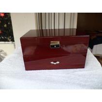 Estuche/caja Para Guardar 20 Relojes Madera Lacada