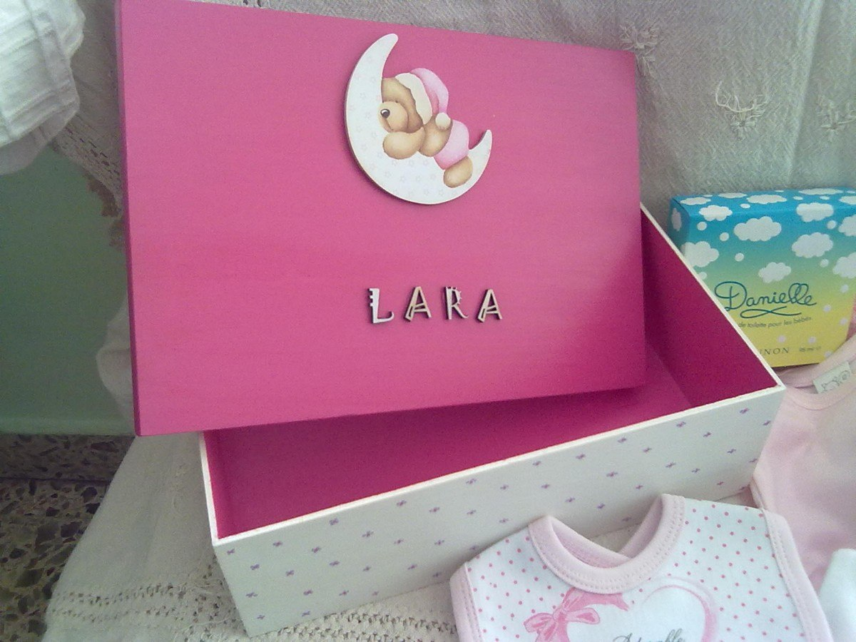 Cajas decoradas para beb imagui - Cajas decoradas para bebes ...