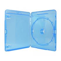 Cajas Bluray Azul Con Folio Calidad Y Encastre Premium X 50u