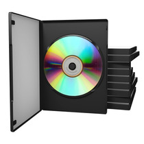 Cajas Dvd Simples 14mm X 100u. Calidad Premium. Oferta!