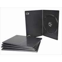 Caja Dvd Slim - 7mm - Negras - Nuevas - Enviamos!