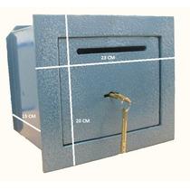 Caja Fuerte 20x23x14cm Tesoro De Amurar Con Buzon
