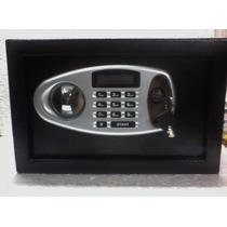 Caja Fuerte Digital C/ Display 31x20x20 + Llave De Seguridad