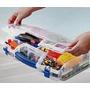 Caja Organizadora De Plastico , Plegable , Cierre Hermetico