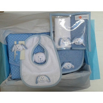 Caja Ajuar Regalo De Nacimiento Para Bebes Mediana Piolines