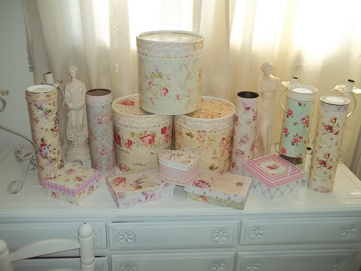 1000 images about decoupage on pinterest - Decoracion estilo shabby chic ...