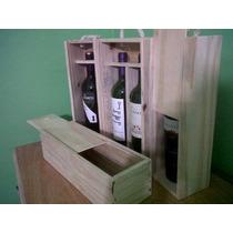 Cajas De Vino De Madera