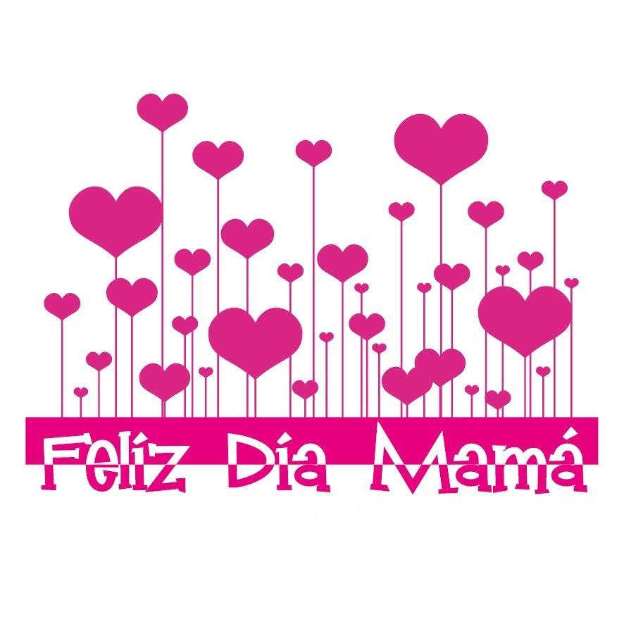 Pin d a de la madre mercados de dise o bazares on pinterest for Decoracion para pared dia de la madre