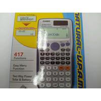 Calculadora Casio Científica Fx-991 Plus 417 Funciones