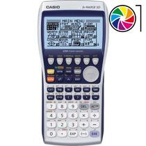 Calculadora Grafica Casio Fx-9860gii-sd Lcd Usb Gtia Oficial