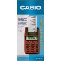 Casio Impresora Portatil Hr8tm- Rojo