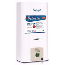 Calefon Señorial 14 Lts Blanco Gas Natural Lhconfort