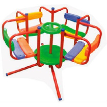 Calesita 4 Asientos Plastico Juegosol / Open-toys Avell 130