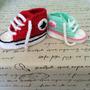 Zapatilla Tipo Converse A Crochet