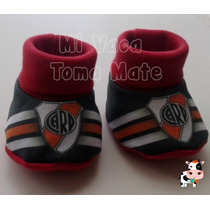 Escarpines De River Plate Botines De Futbol Para Bebes