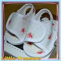 Hermosas Sandalias Abrojo T 13-14. Little Treasure.