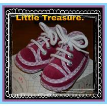 Zapatillas Gamuzadas Bbton T 14 Y 16. Little Treasure.