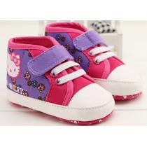 Zapatillas Botitas Hello Kitty Nena Importado No Caminantes