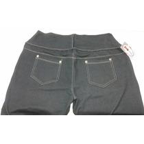 Leguins Pantalon Calza Simil Jean Talles S Al Xxxl 1 Al 7.