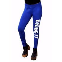 Calza Leggings Pantalón, Estampado Bring It, Brishka, T005-3