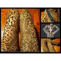 Leggings Importados Animal Print Leopardo Mujer Calzas