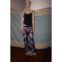 Maria Cher Palazzo Asedado Estampado Modelo Jordan Promo