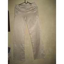 Pantalon De Dama Rasado Lycra Y Algodon
