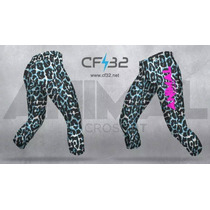 Calza Crossfit Animal Larga Animal Print