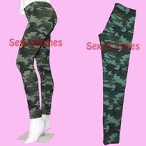 Calzas Camufladas De Lycra Militar Por Talles 1 Al 5