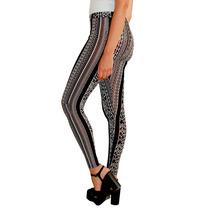 Calza Pantalon Estampado Mujer, Brishka T002-12