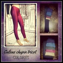 Calzas Lycra Lisa Colores Excelente Calce Y Calidad.fábrica