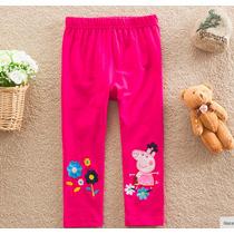 Calzas Importada Peppa Pig Excelente Pantalones Bebe Nena