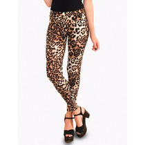Calza Leggings Estampado Animal Print Mujer, Brishka T002-14