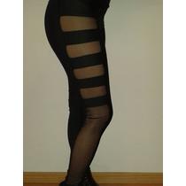 Sexy Calza/leggin Con Transparencias En Laterales, Divinas!!